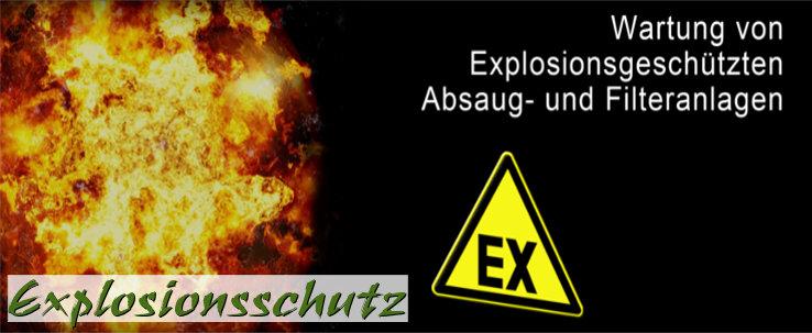 Wartung und Prüfung von Anlagen in explosionsgefährdeten Betriebsstätten